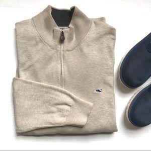 Vineyard Vines Men's 1/2 Zip Pullover Sweater
